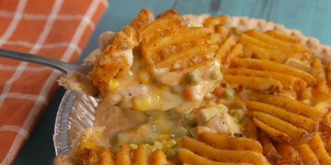 Waffle Fry Pot Pie
