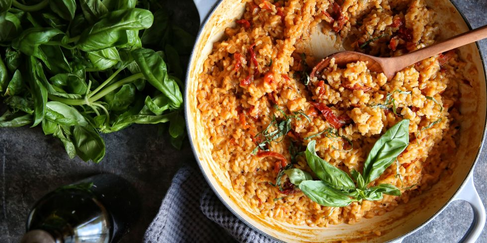 Sun Dried Tomato Risotto Recipe