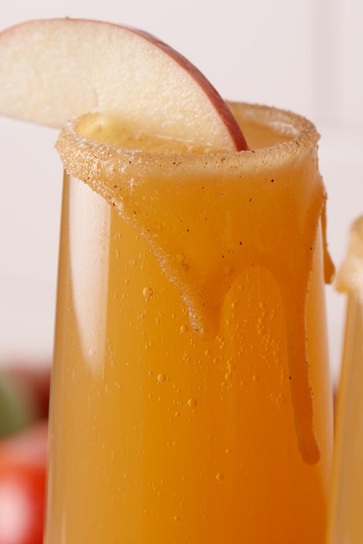 Best Caramel Apple Mimosas Recipe How To Make Caramel