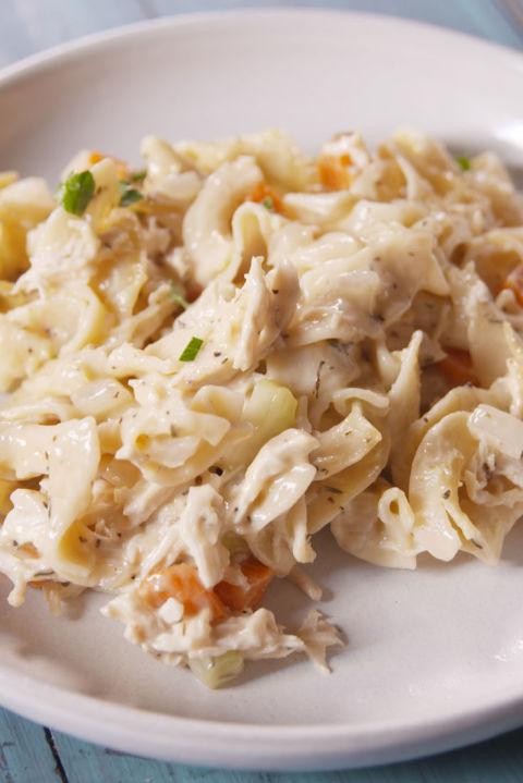 Chicken Noodle Soup Casserole Vertical