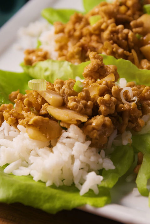 20 chinese new year food traditions recipes for the chinese new asian lettuce wraps forumfinder Gallery