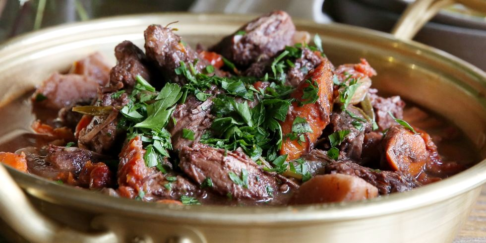 Slow Cooker Red Wine Beef Stew Recipe