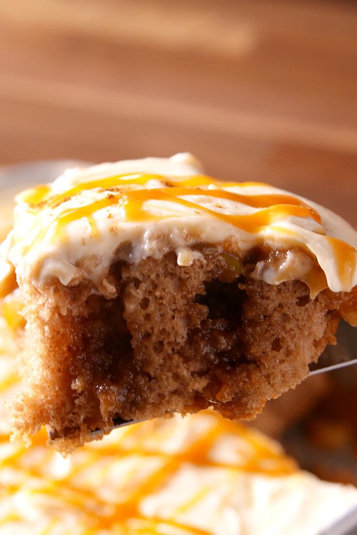 Thanksgiving recipe cake