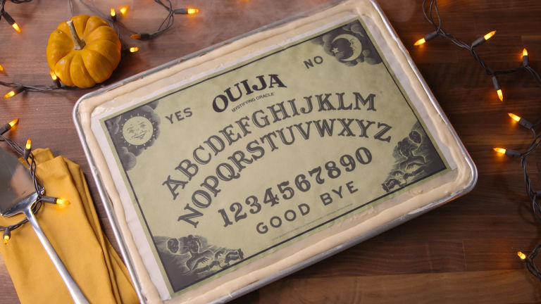Ouija Board Birthday Cake