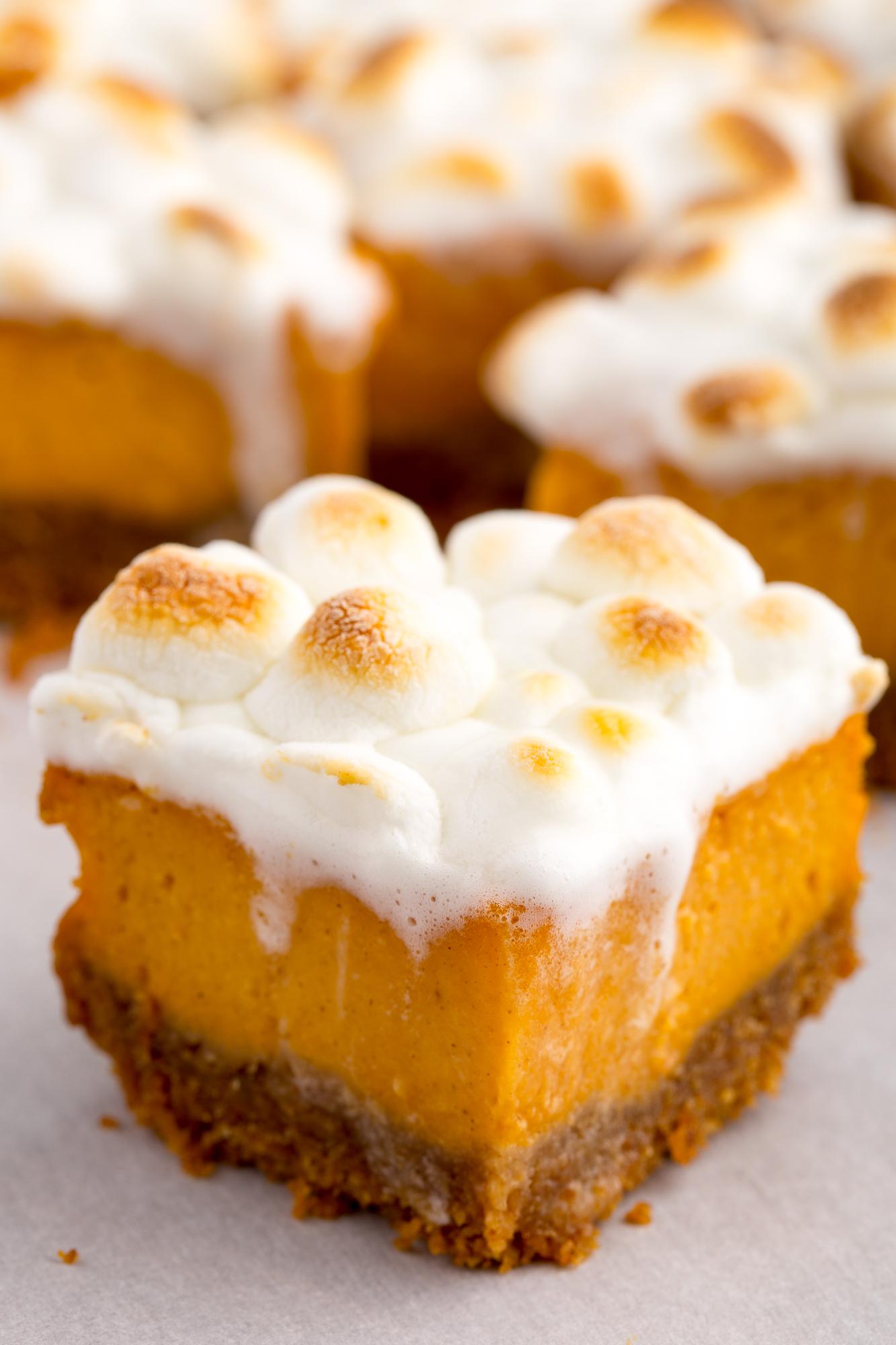 Best Sweet Potato Marshmallow Bars Recipe How To Make
