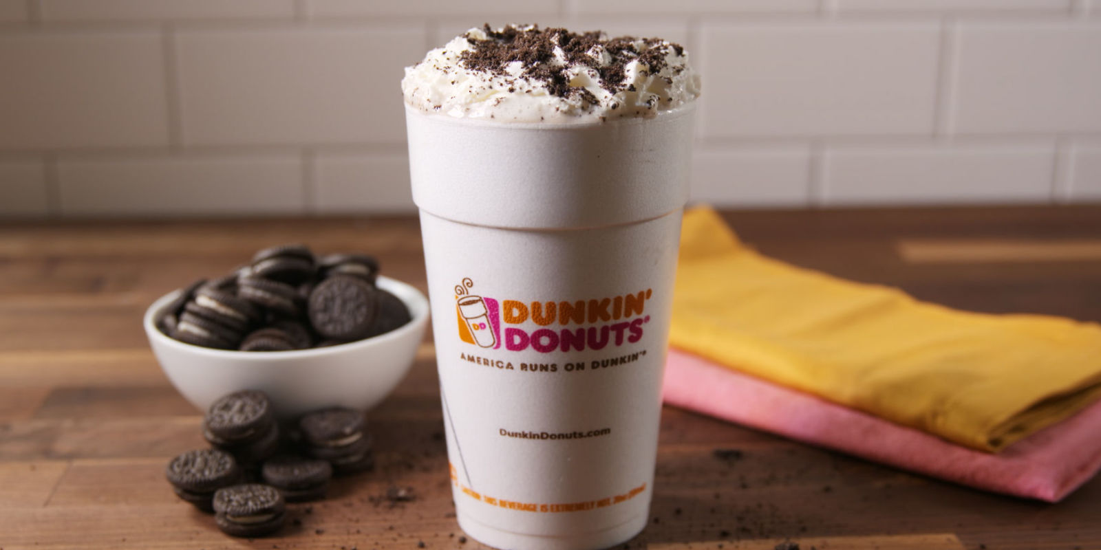 Dunkin' Donuts New Hot Chocolate Flavor Is The Drink You've Been ...
