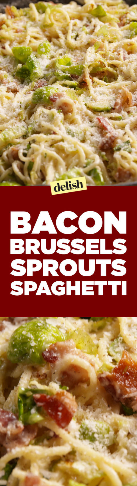 best bacon brussels sprouts spaghetti recipe how to make bacon brussels sprouts spaghetti. Black Bedroom Furniture Sets. Home Design Ideas