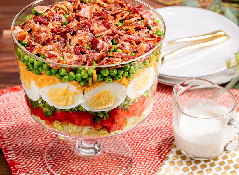 Best Seven Layer Salad Recipe How To Make Seven Layer
