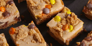 Double Reeses Cheese Cake Bars