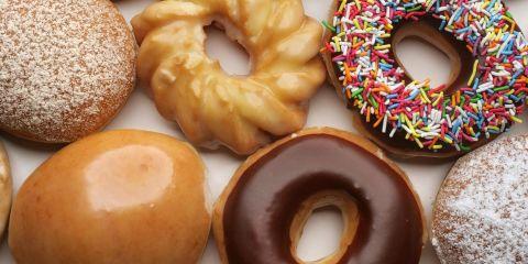 Doughnuts from Krispy Kreme