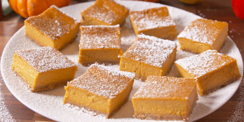 Gluten-Free Pumpkin Bars Horizontal