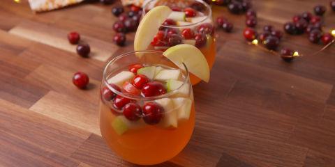 Cranberry Sangria Horizontal