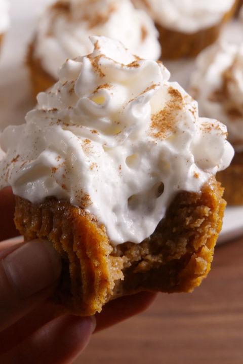 Pumpkin Pie Cupcakes Vertical