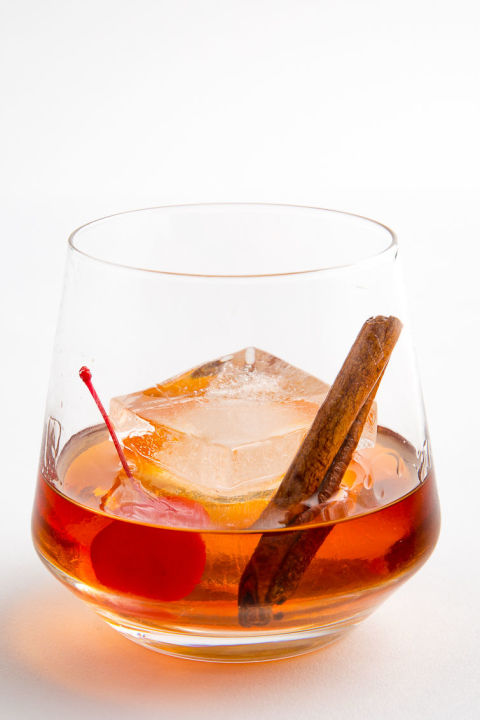 Maple Bourbon Old-Fashioned
