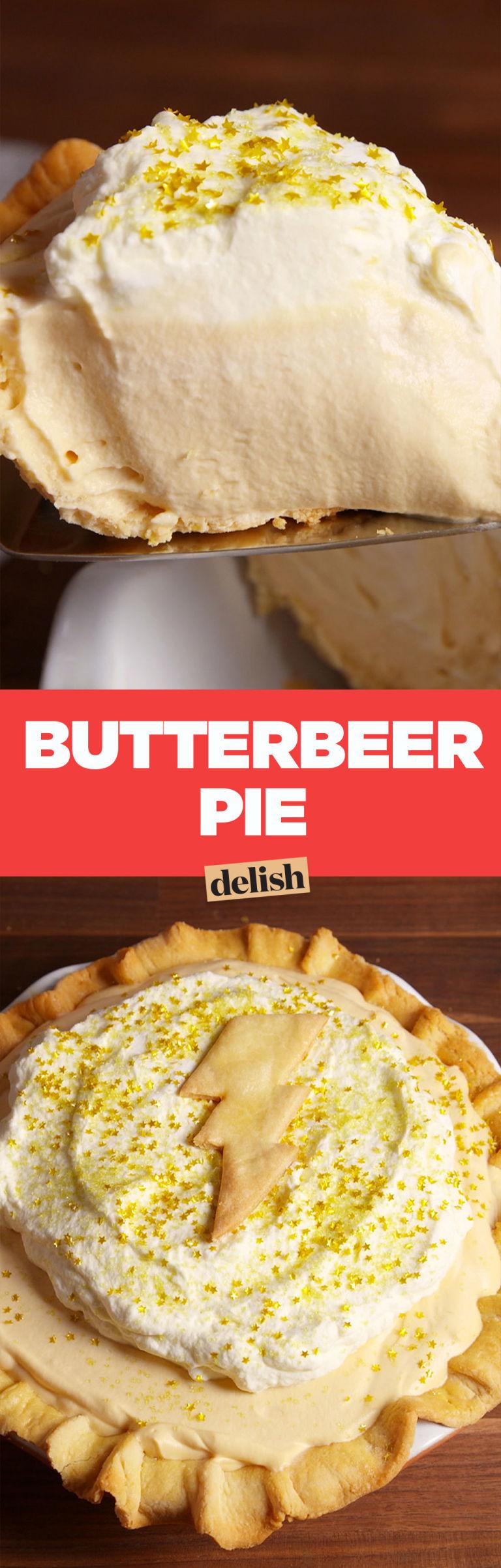 Butterbeer Pie Pinterest