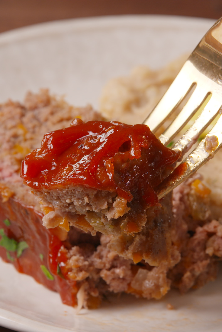 Best Classic Meatloaf Recipe - How To Make Easy Meatloaf ...