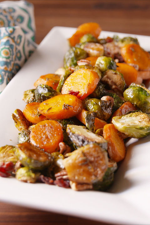 Holidays mean no basic veggies allowed.