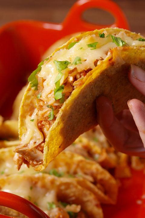 Best Cheesy Baked Tacos Recipe-How To Make Cheesy Baked ...