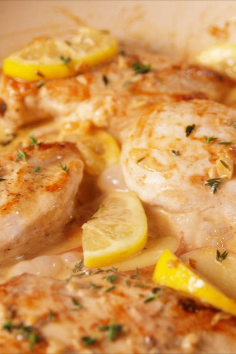 Low Carb, Low Fat Lemon Chicken