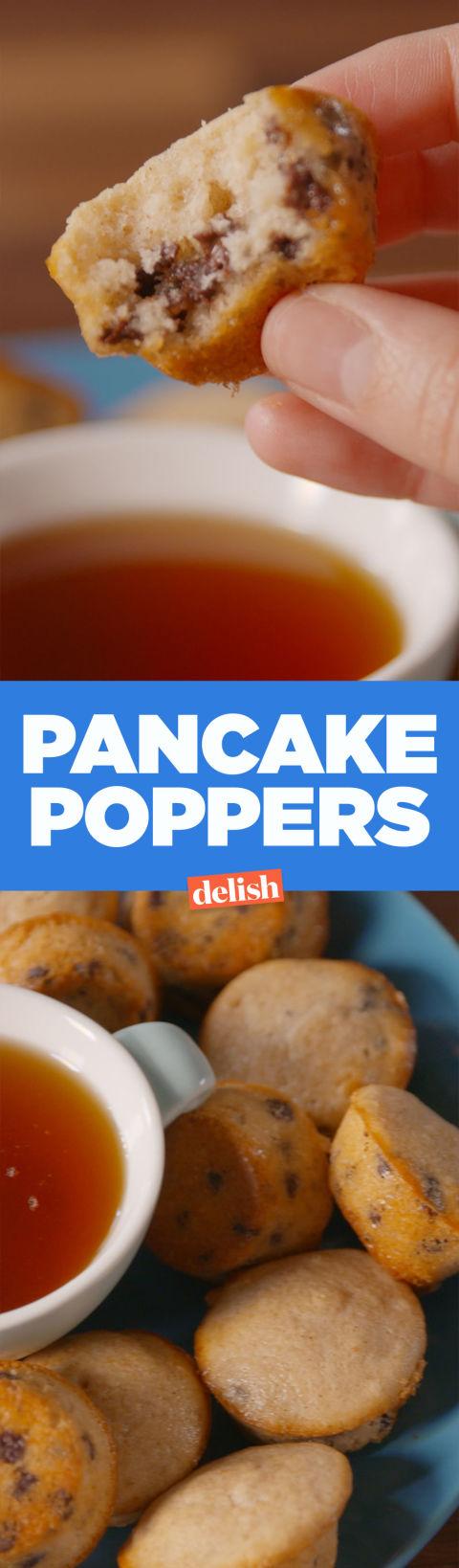 Baking Pancake Poppers Video Pancake Poppers Recipe How