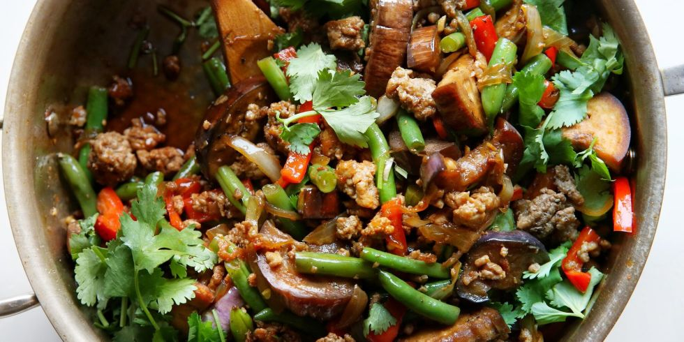 Garlic Sriracha Pork Stir Fry Horizontal