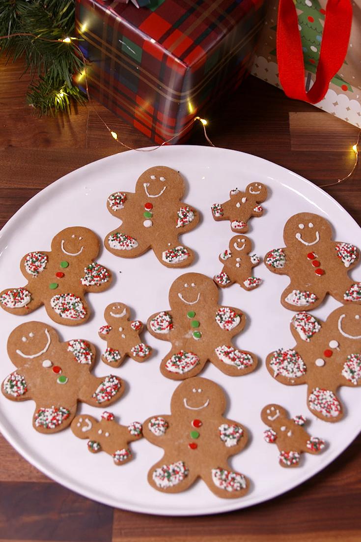 Best Classic Gingerbread Men Cookies Recipe Delish Com