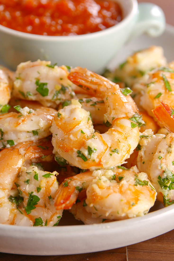 Best garlicky shrimp cocktail recipe how to make garlicky What to make with shrimp for dinner