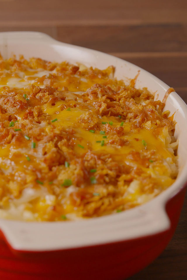 Best Cheesy Funeral Potatoes Recipe