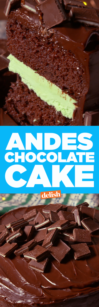 Andes Chocolate Cake Delish