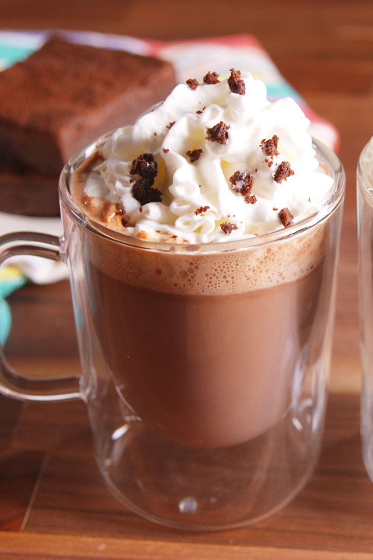 20+ Sexy Hot Chocolate Recipes - Homemade Hot Chocolate Drinks ...