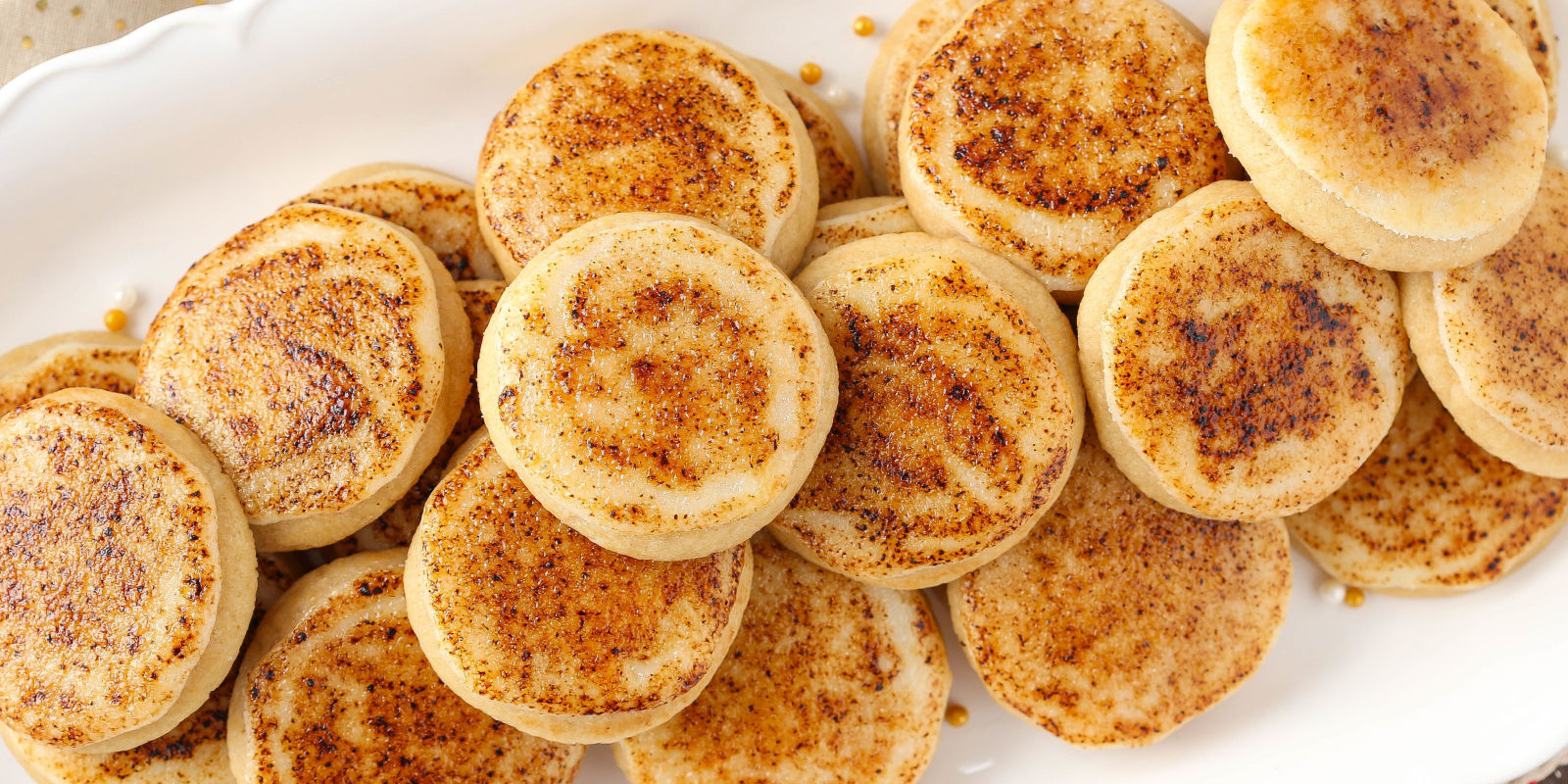Best Creme Brûlée Sugar Cookies Recipe - How To Make Creme ...