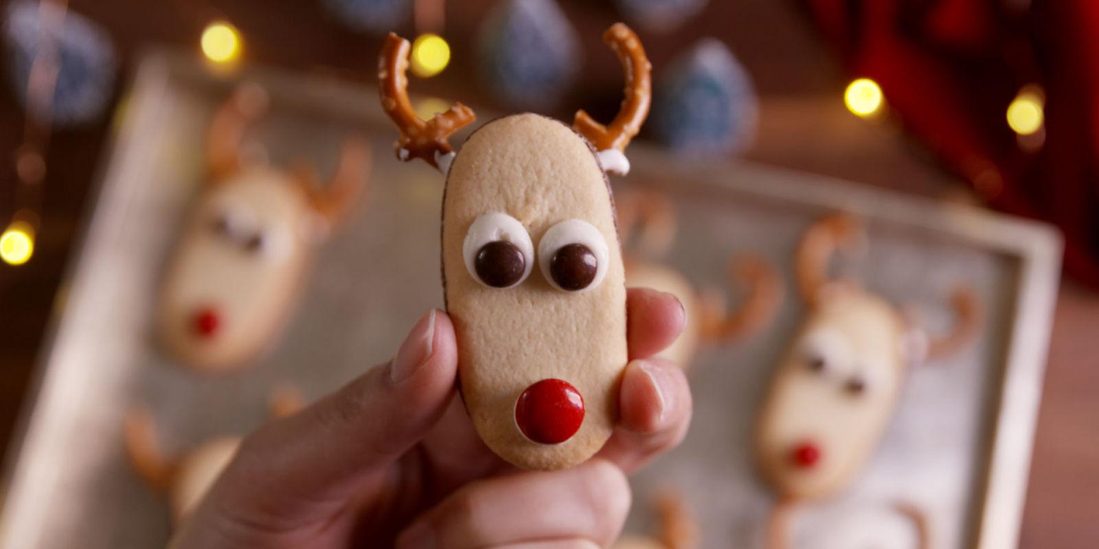 Milano Reindeer Cookies Delish Com