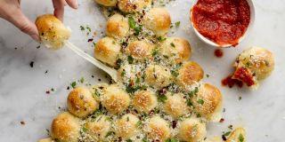 Best palm tree pretzels recipe how to make palm tree - Idee apero noel original ...