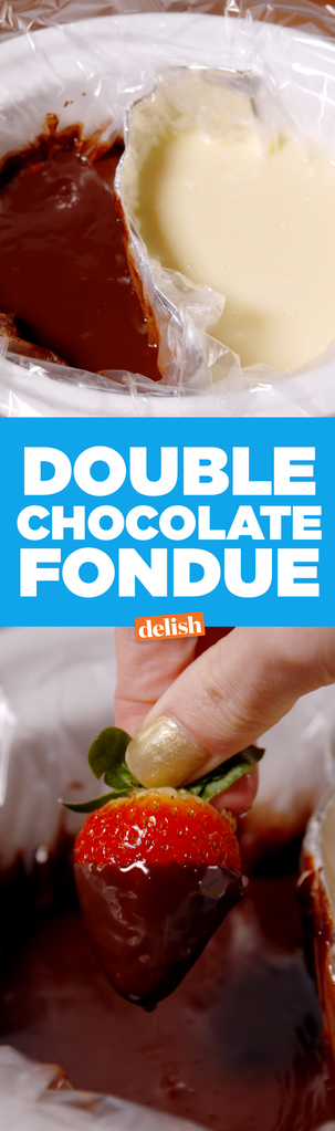 Best Double Chocolate Fondue - Best Slow Cooker Chocolate Fondue ...