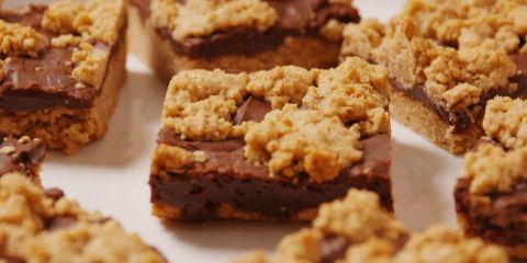 Chocolate Crumble Bars