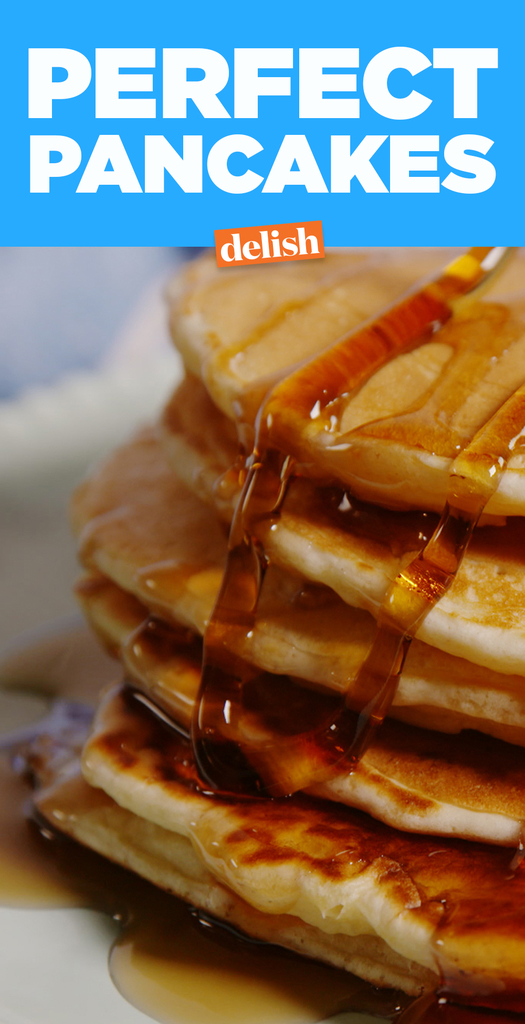 Easy fluffy pancake recipe how to make perfect homemade pancakes perfect fluffy pancakes ccuart Choice Image