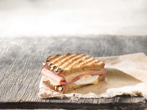 panera bread ham egg & cheese breakfast power