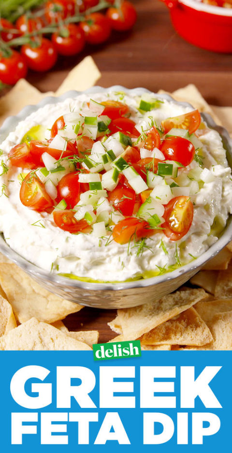 Best Greek Feta Dip - How to Make Greek Feta Dip