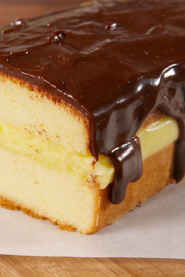 Boston Cream Pound Cake Vertical