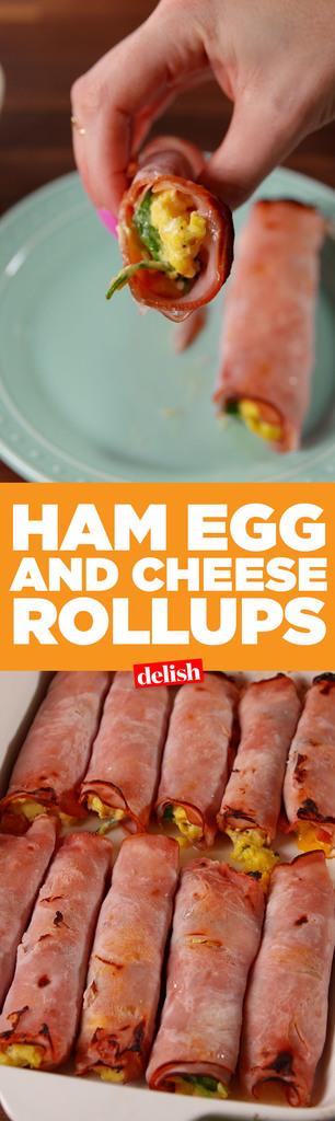 Best Ham Egg Amp Cheese Roll Ups How To Make Ham Egg
