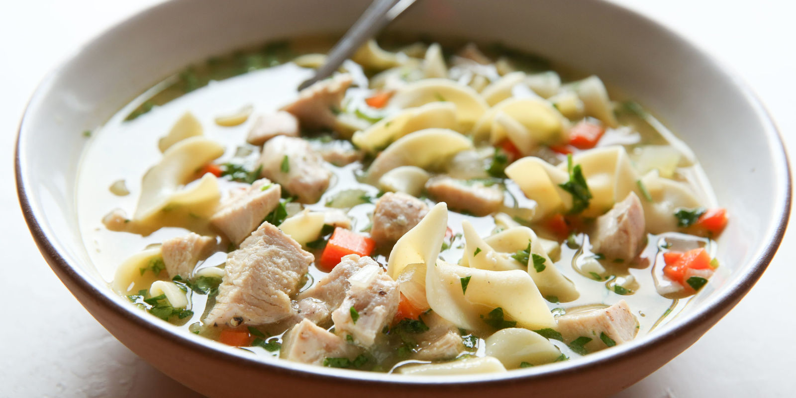 Easy homemade chicken noodle soup recipe how to make for How to make homemade chicken noodle soup