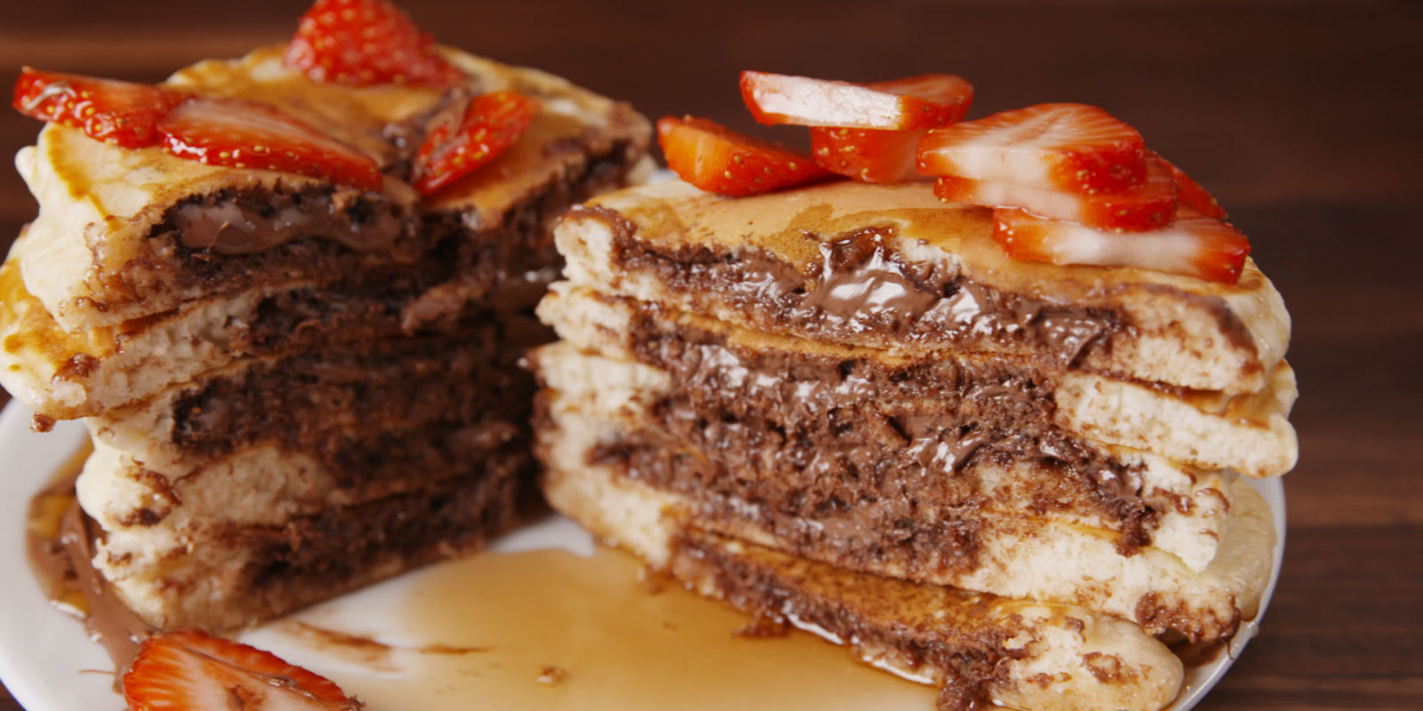 Best Nutella Stuffed Pancakes How To Make Nutella