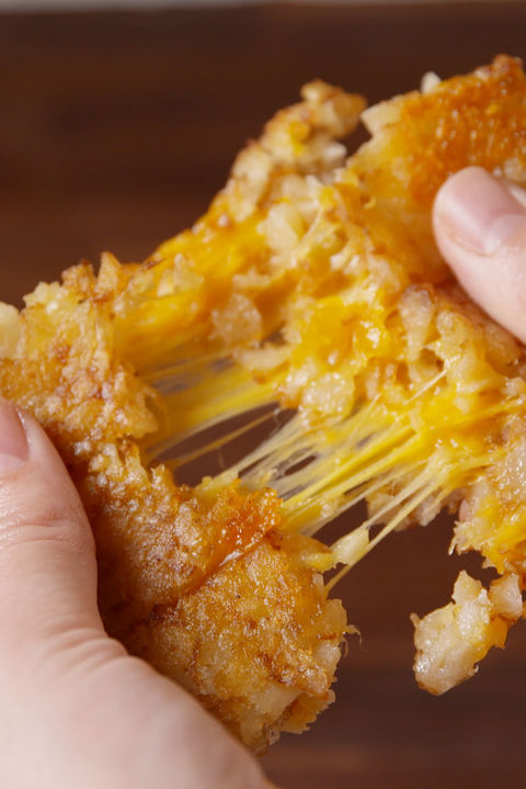 Tater Tot Grilled Cheese