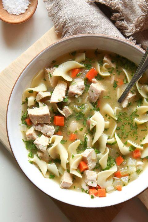 Chicken Noodle Soup Vertical