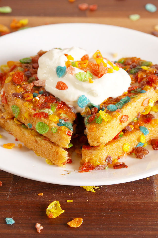 Best fruity pebble french toast how to make fruity pebble french an error occurred ccuart Images