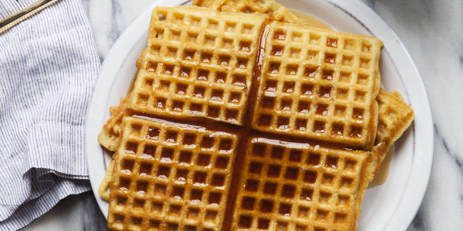 What Color Are Waffles Naturally