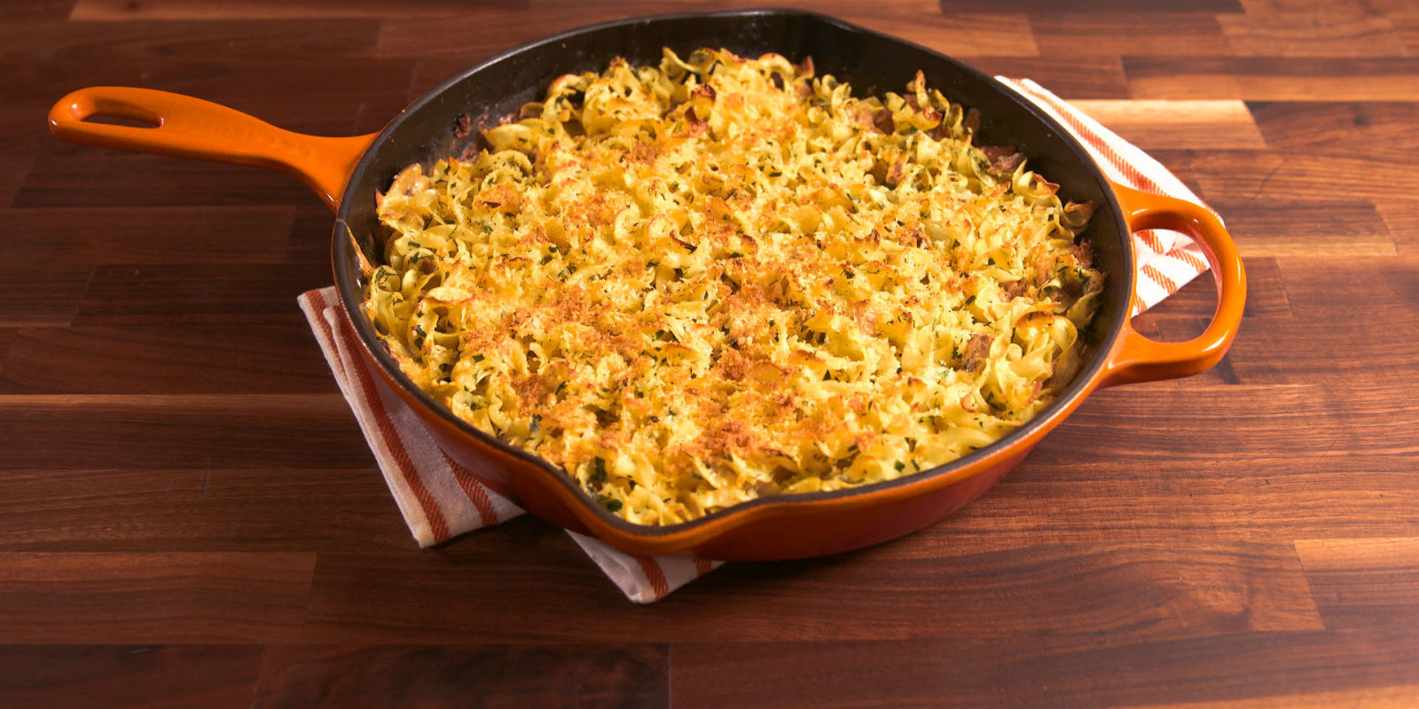 Best tuna noodle casserole melt recipe delish for How to make tuna fish casserole