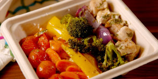 Rainbow Chicken & Veggies Promo