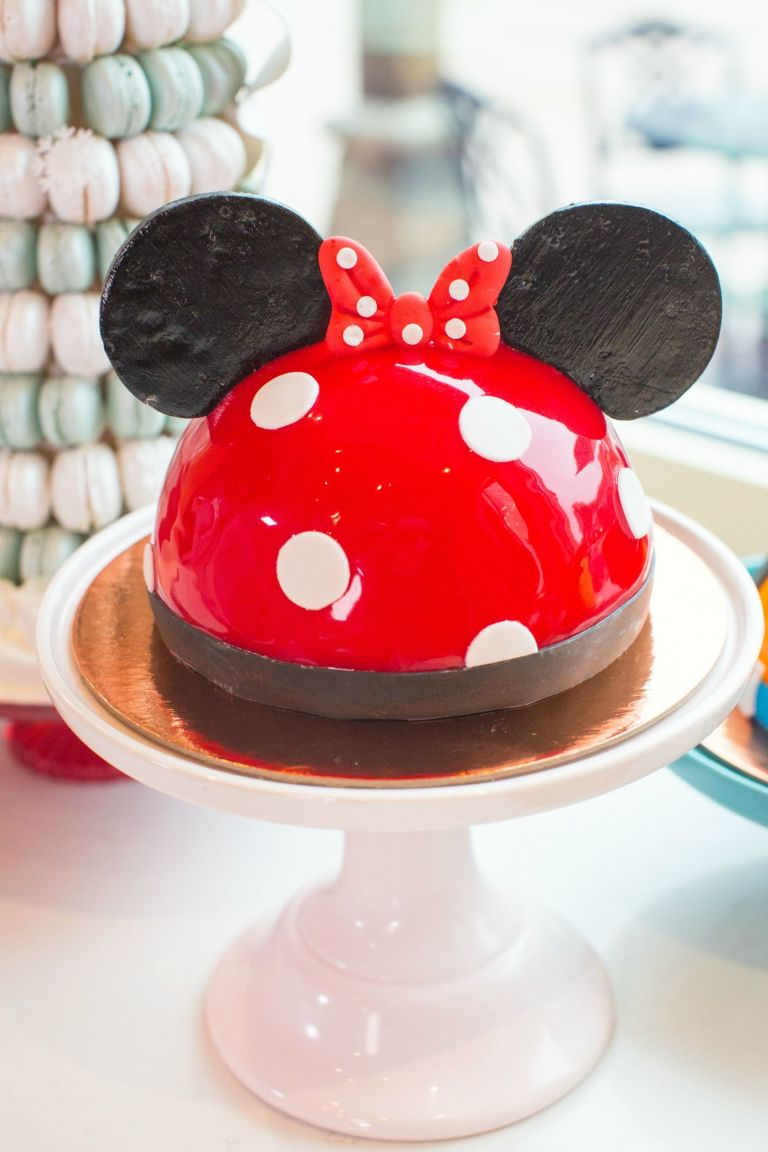 Easy Minnie Mouse Cake Ideas Pictures of Minnie Mouse Birthday