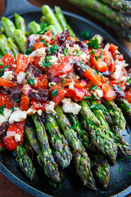 how to prepare asparagus for the grill